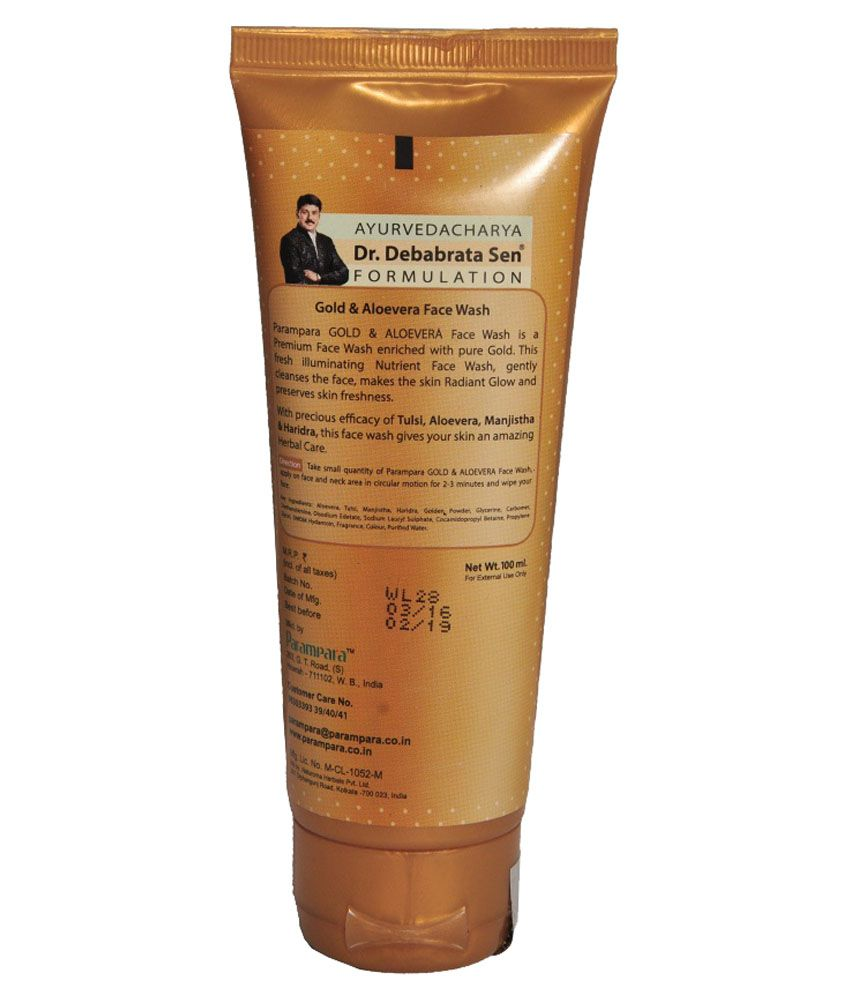 424abe71eb264 Parampara Face Wash 100 gm: Buy Parampara Face Wash 100 gm at Best Prices  in India - Snapdeal