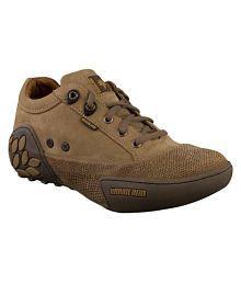 Woodland GC 0549108Y15-KHAKI Lifestyle Khaki Casual Shoes