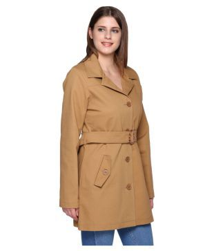 90a8df31b00 Buy Trufit Poly Cotton Trench Coats Online at Best Prices in India ...