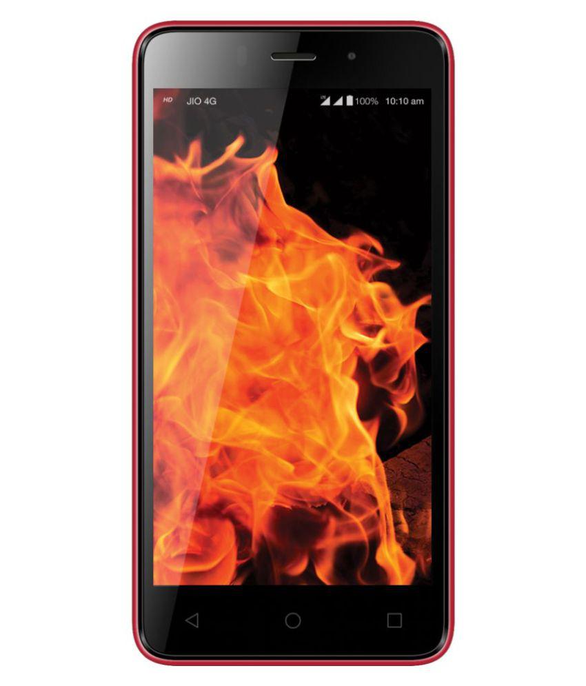 LYF 4503 ( 8GB , 1 GB ) Black Red
