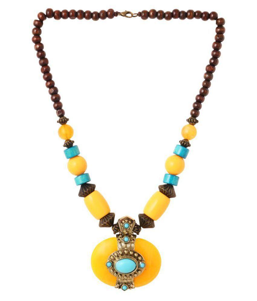 Minha Multi color Alloy Necklace