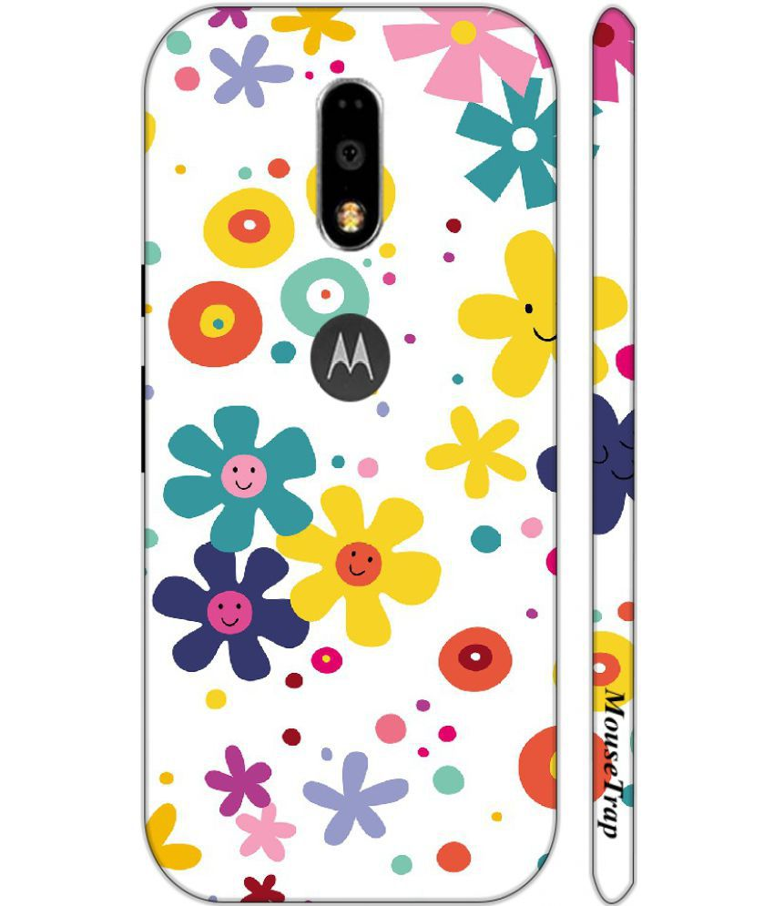 Moto G4 Plus Printed Cover By Mouse Trap