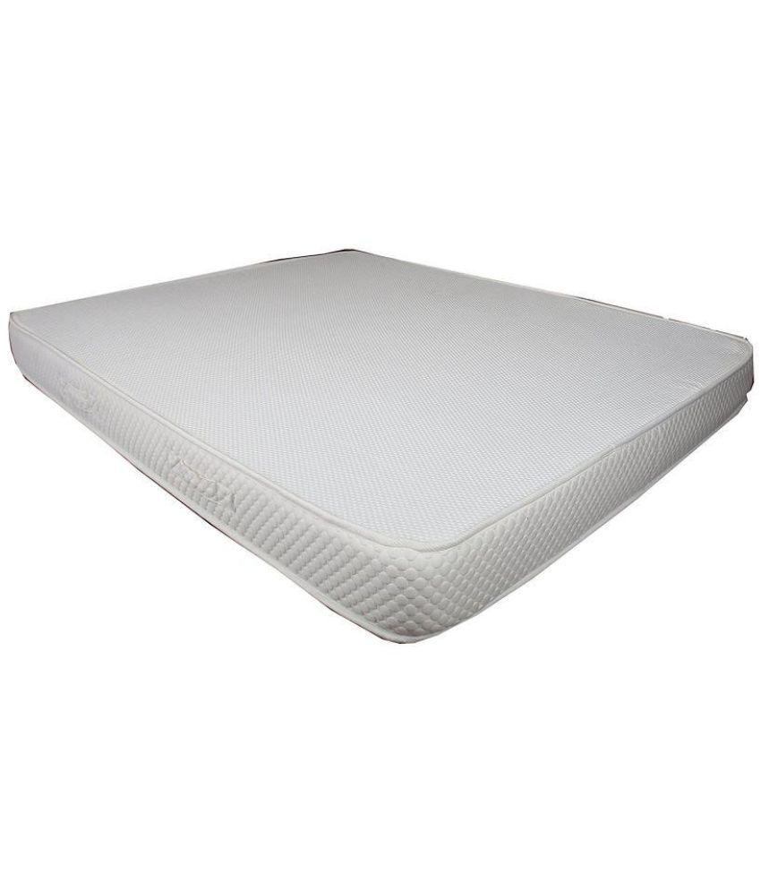 peps spine guard 5 inches memory foam mattress 6 orthopedic mattress