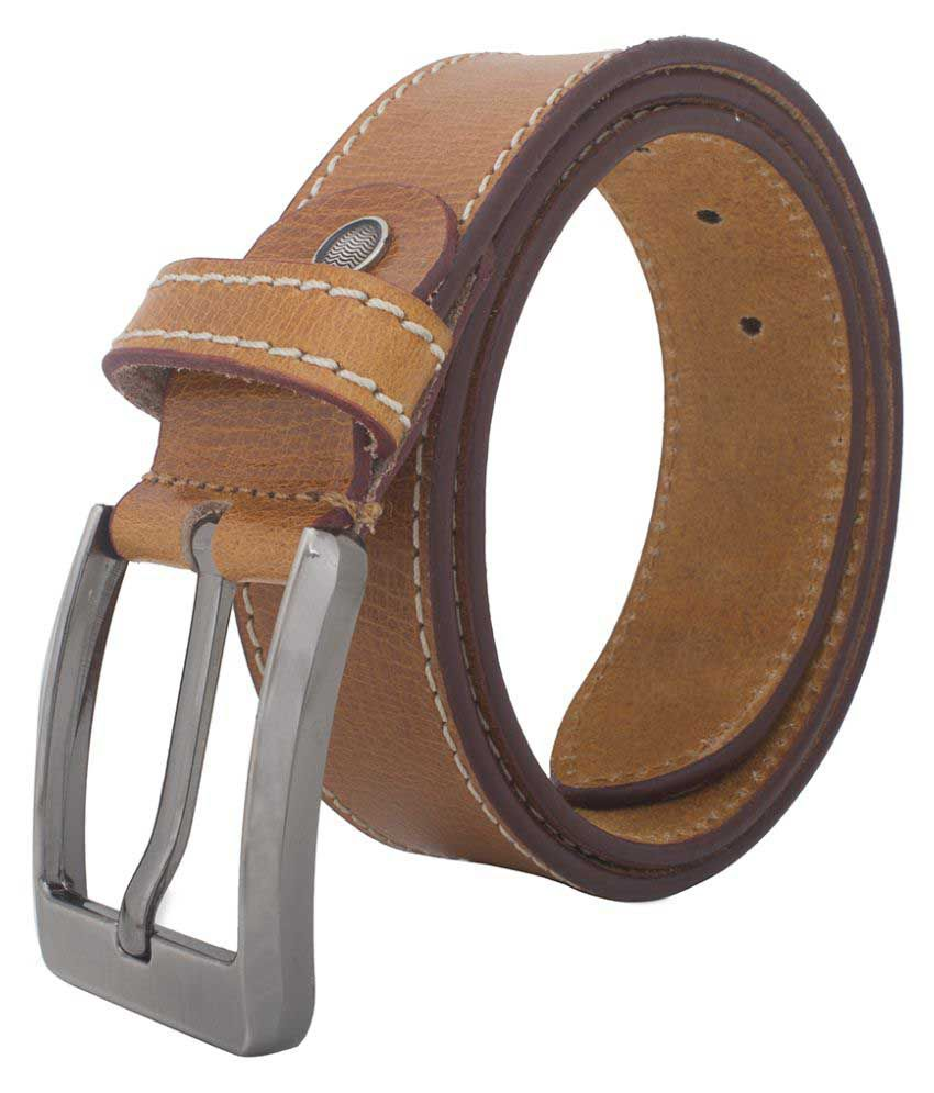 Chisel Tan Leather Casual Belts