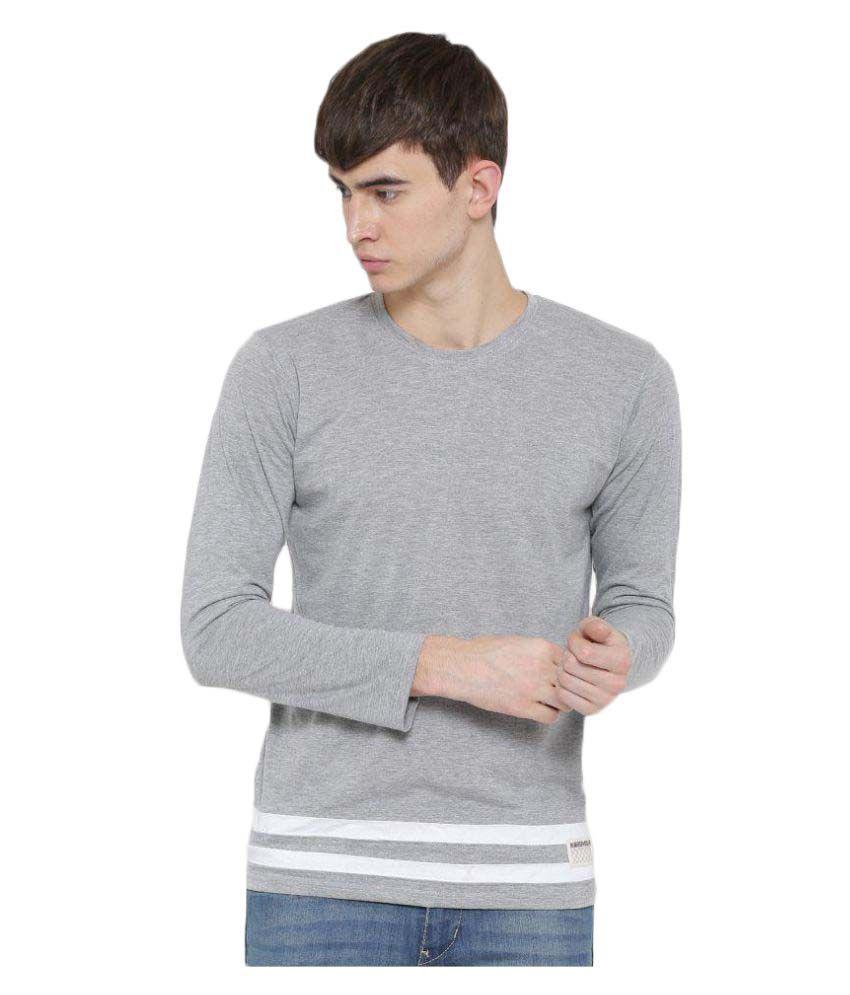 Hubberholme Grey Round T-Shirt