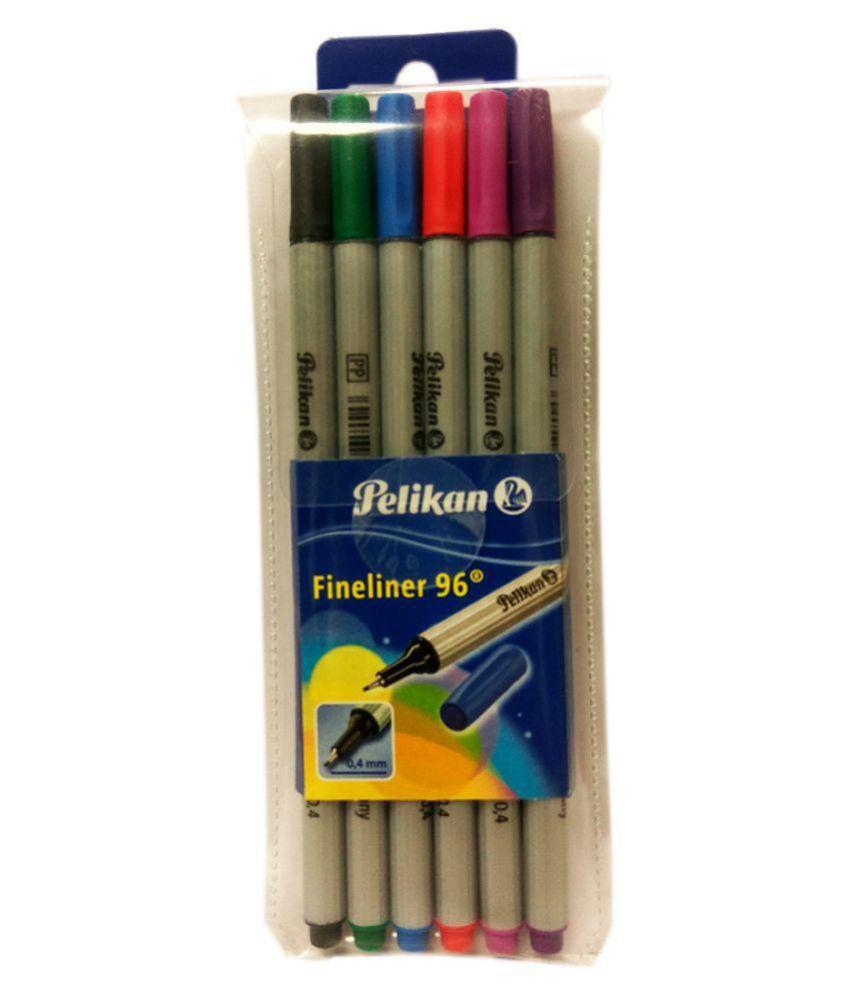 Pelikan Fineliner Set Of 6 (0.4mm)
