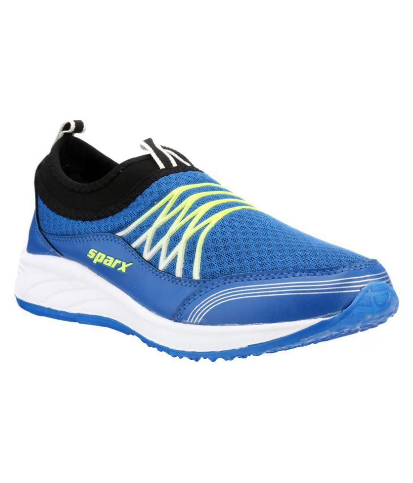 Sparx Blue Running Shoes