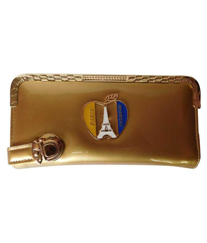 Adiari Fashion Gold Wallet