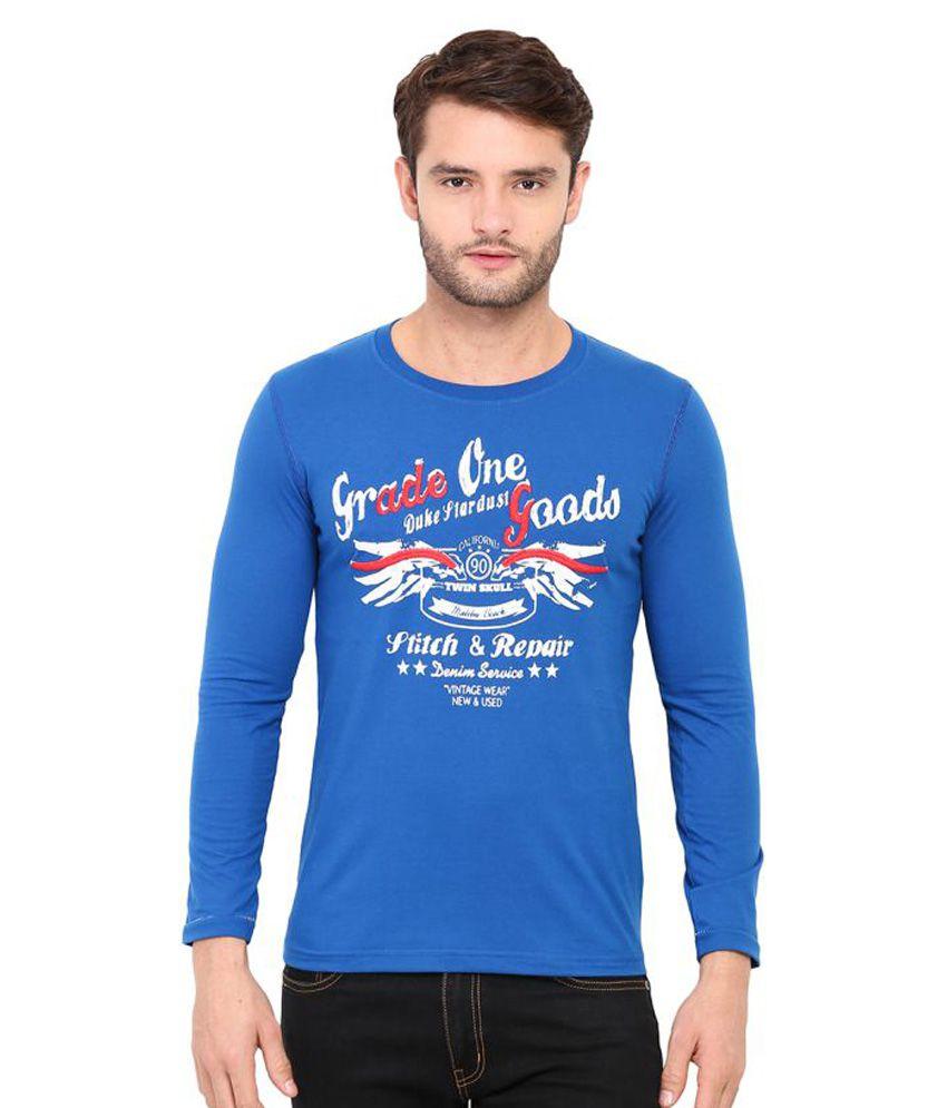 Duke Blue Round T-Shirt