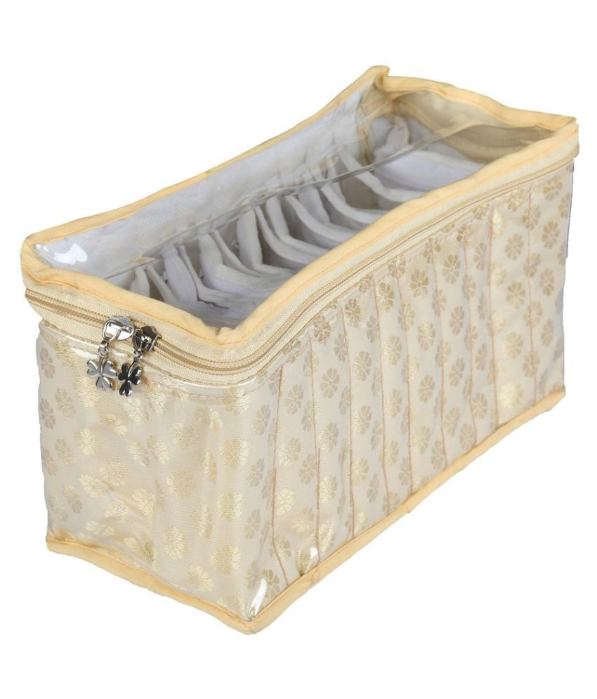 SuiDhaga Beige Jewellery Box