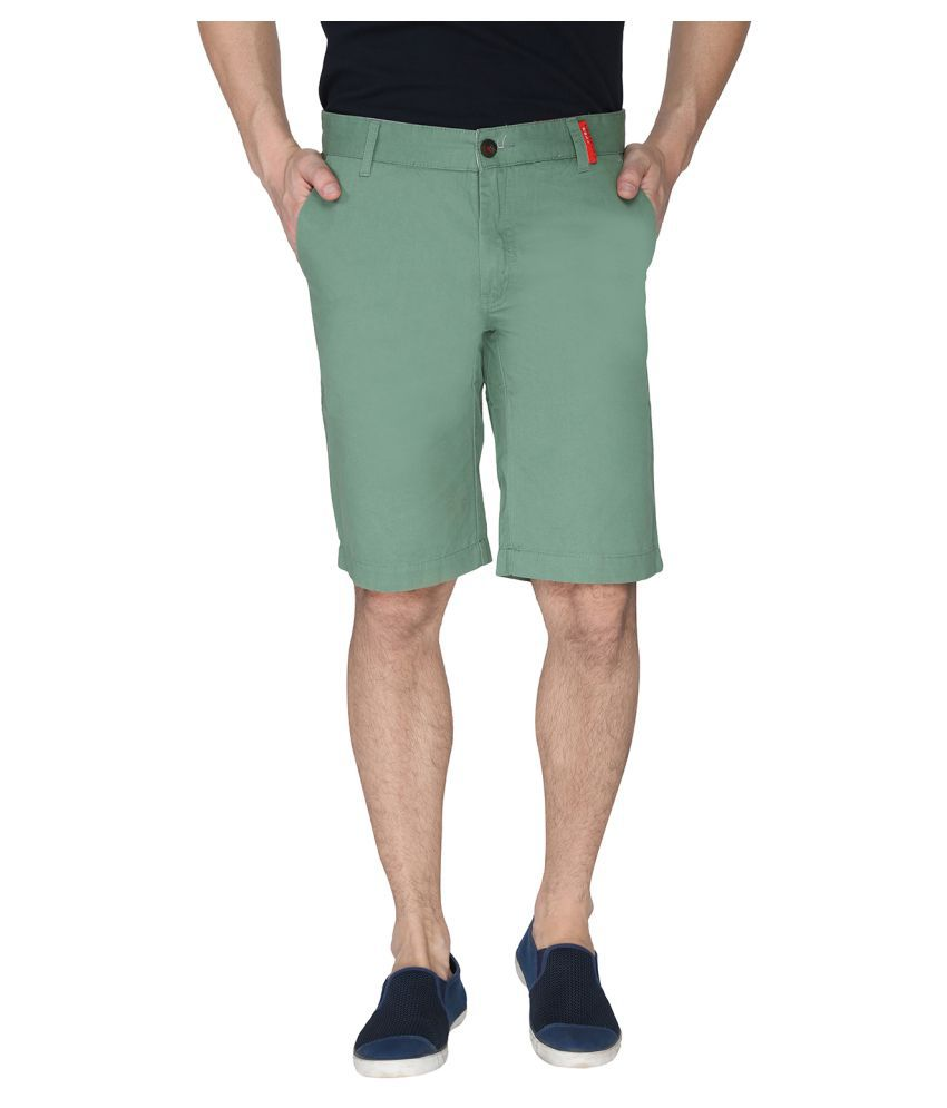 Again? Vintage Green Shorts