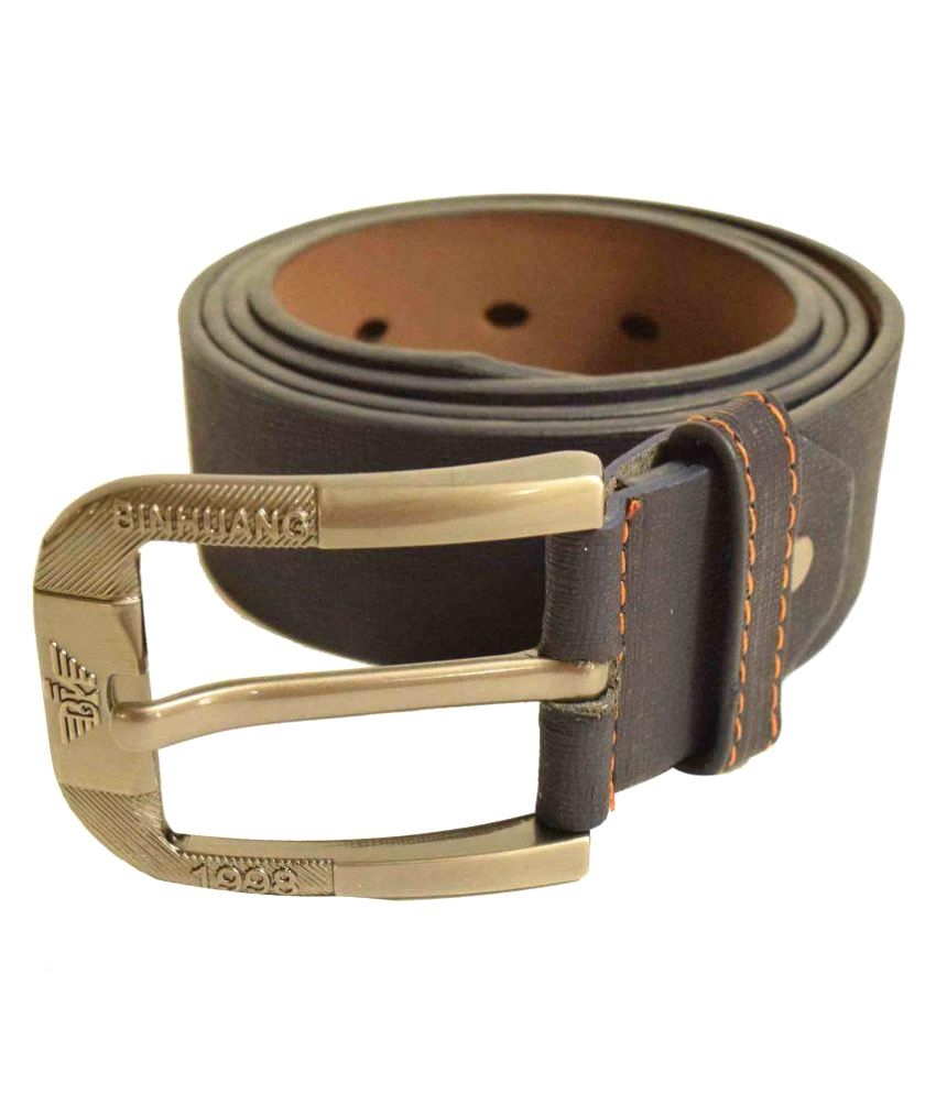 Jalad Brown PU Casual Belts