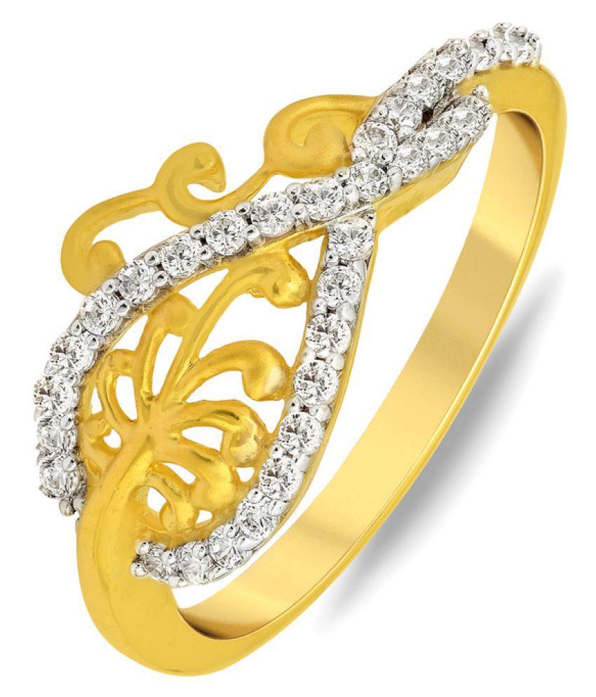 P.N.Gadgil Jewellers 22k Yellow Gold Ring