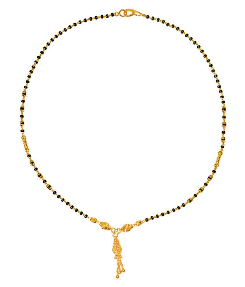 P.N.Gadgil Jewellers 22k Yellow Gold Mangalsutra
