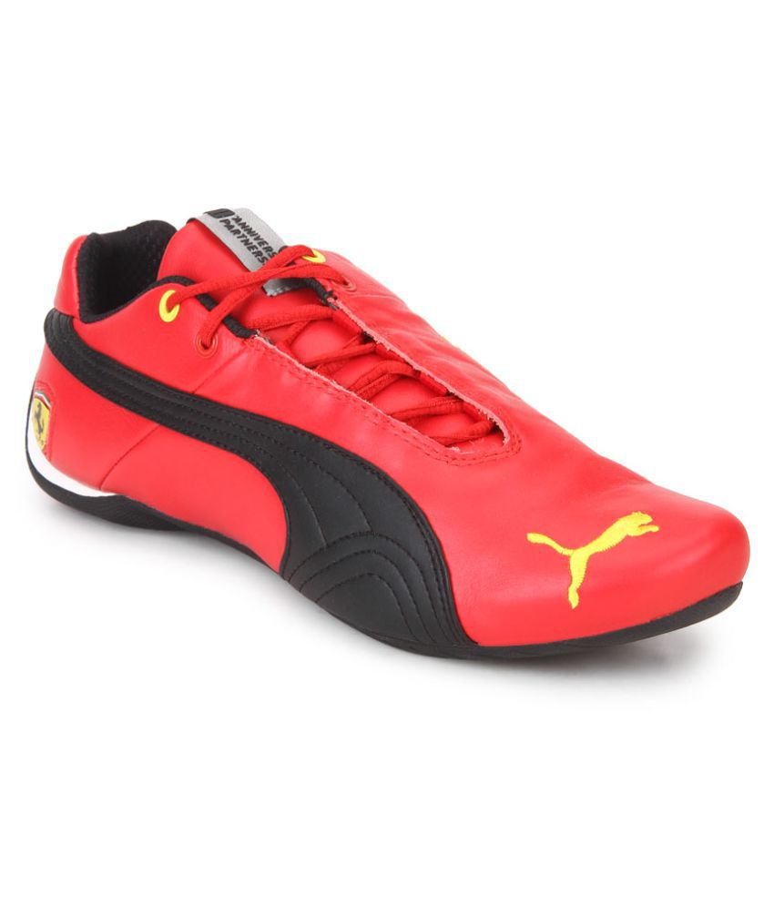 935a19bc569617 Puma Future Cat Leather SF -10 Lifestyle Red Casual Shoes - Buy Puma Future  Cat Leather SF -10 Lifestyle Red Casual Shoes Online at Best Prices in India  on ...