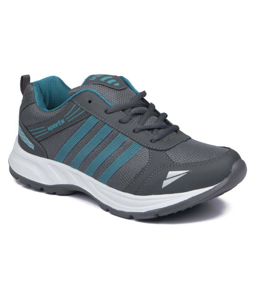 Asian Gray Running Shoes