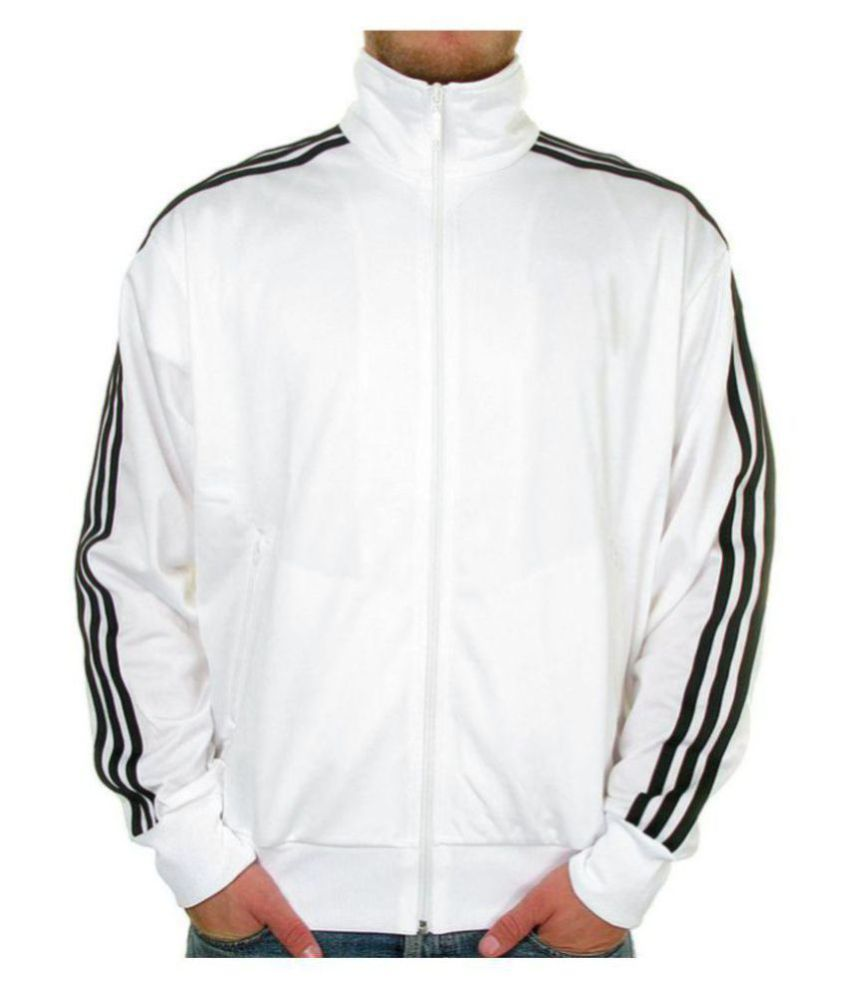Navex White Cotton Tracksuit