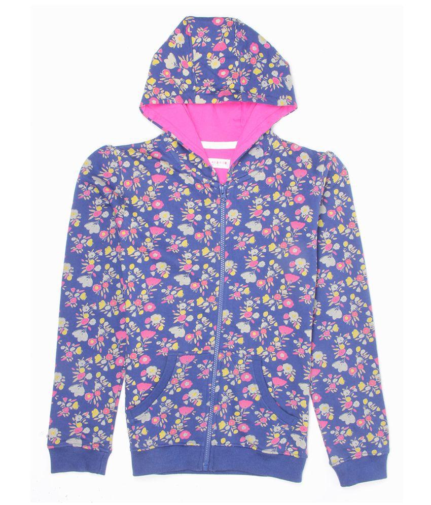 U S Polo Multicolour Cotton Blend Sweatshirt