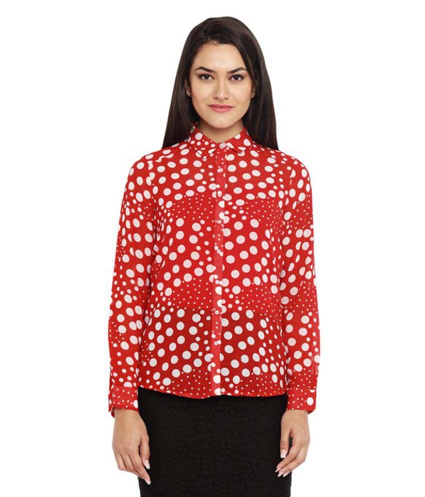 Park Avenue Woman Polyester Shirt
