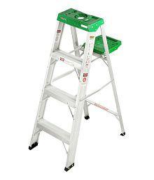 Liberti Aluminium 4 Feet 5 Years Warranty DIY Ladder With Utility Tray
