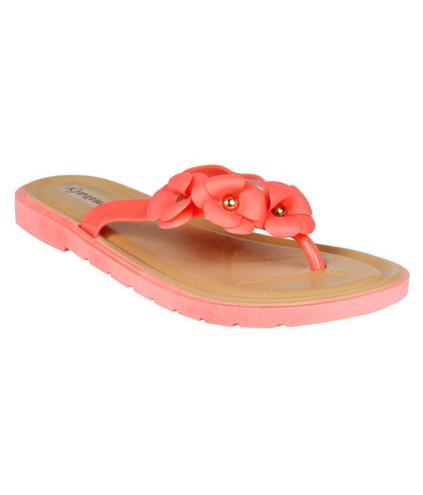 Femitaly Pink Slippers