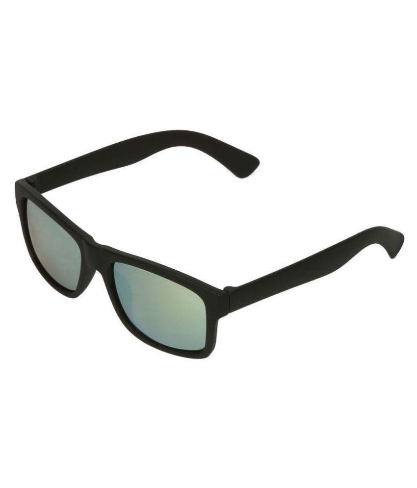 Swiss Design Green Wayfarer Sunglasses ( 39088-BK.SL )