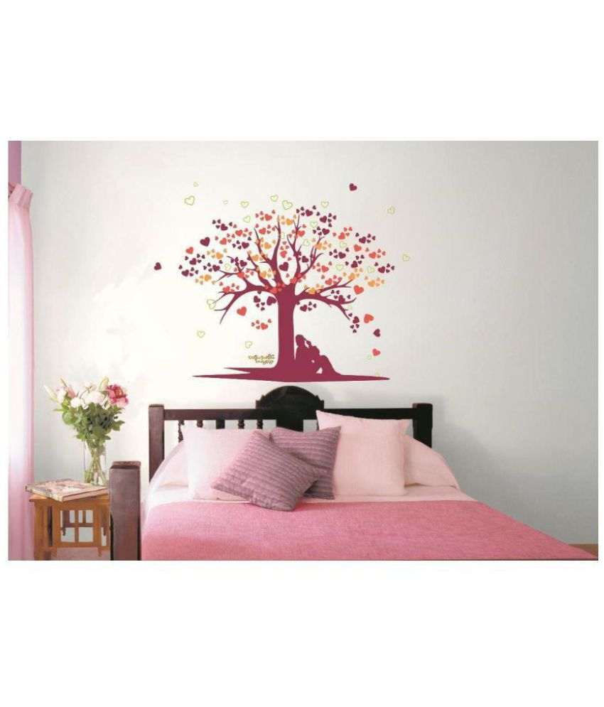 Asian Paints Tree Of Love Vinyl Wall Stickers Buy Asian Paints