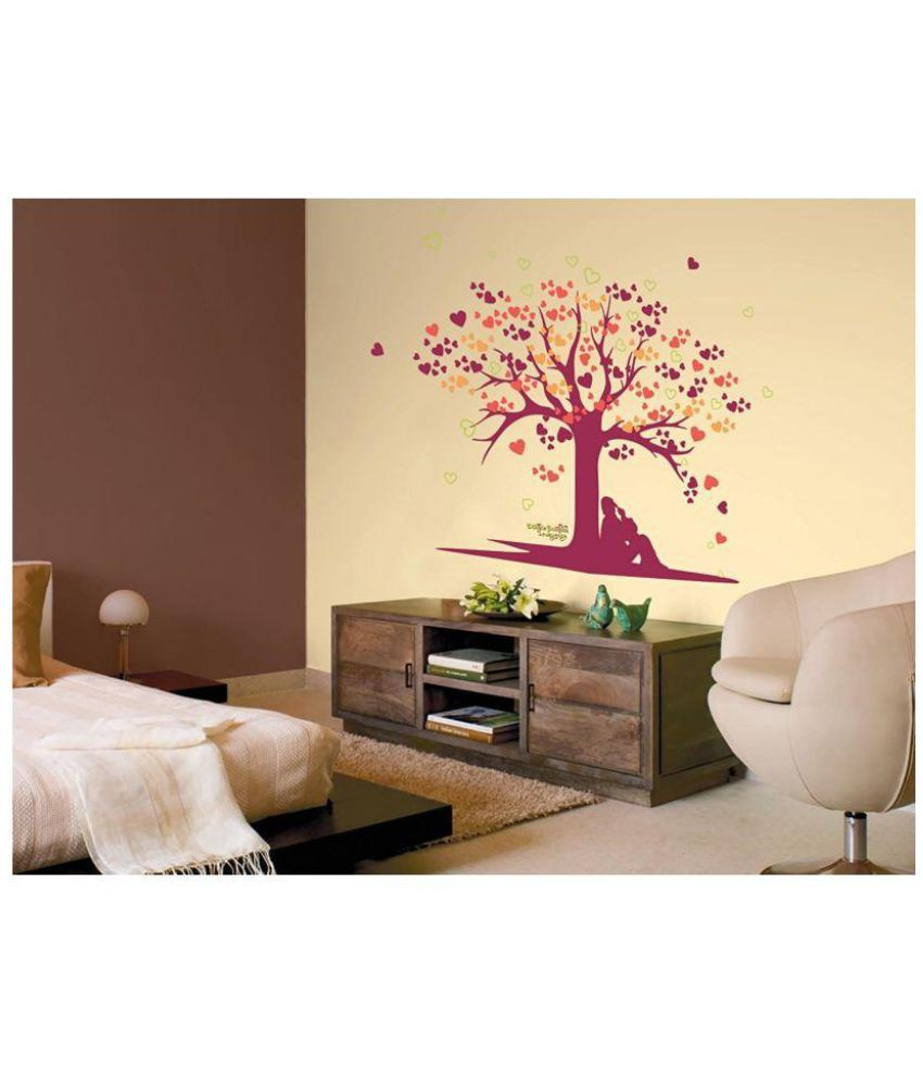 49d5ef0914a Asian Paints Tree of Love Vinyl Wall Stickers - Buy Asian Paints ...