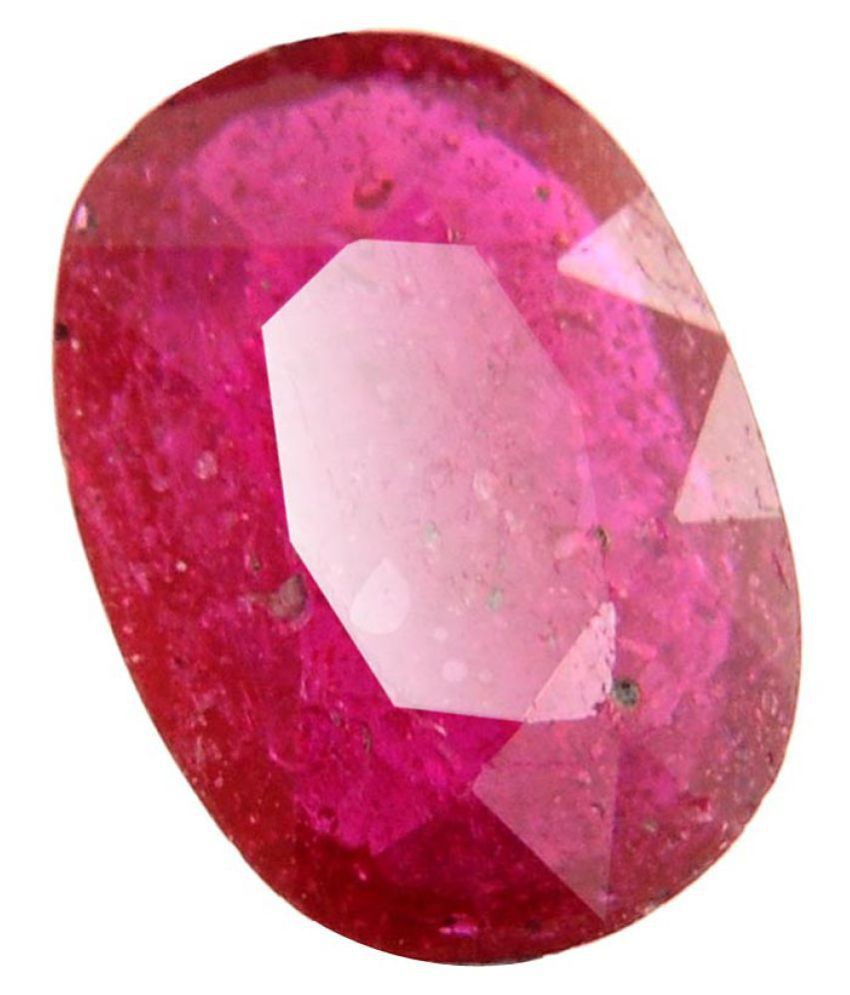 Nirvana Gems IGI Red Ruby Precious Gemstone