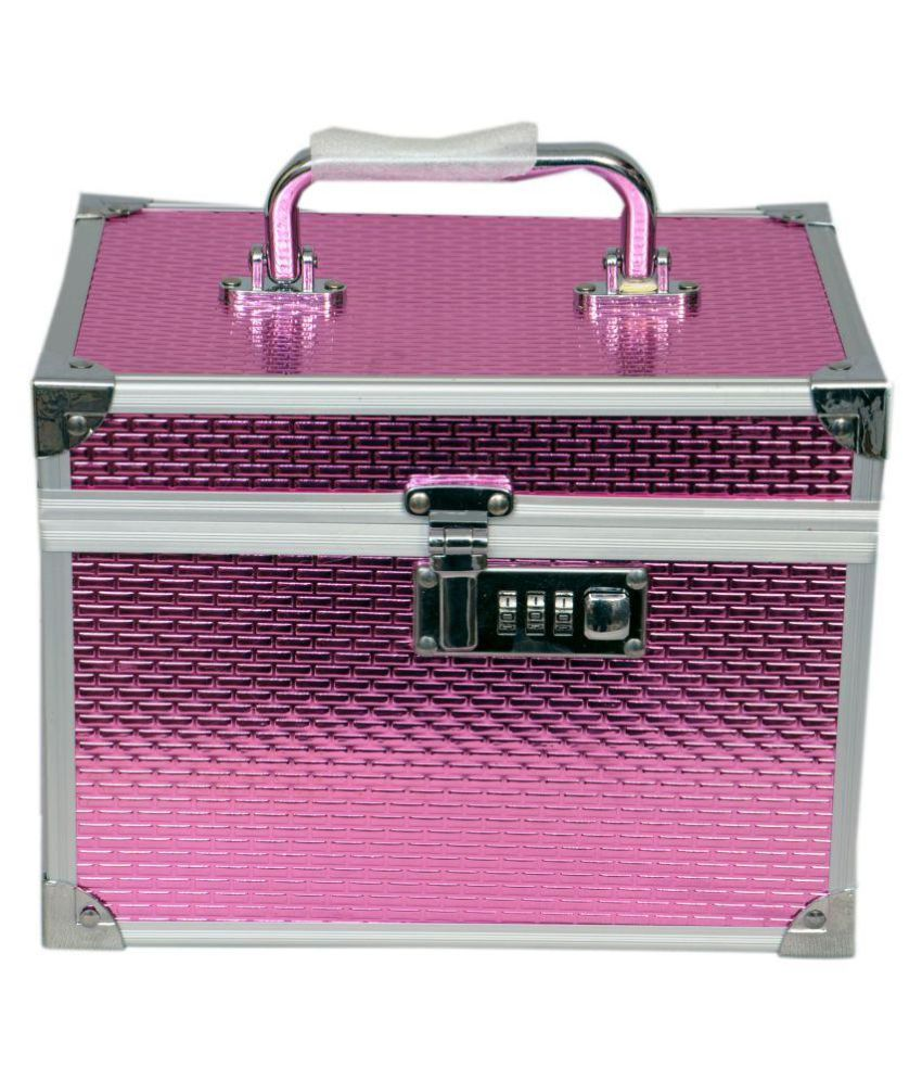 Bonanza Pink Makeup Jewellery Vanity Box