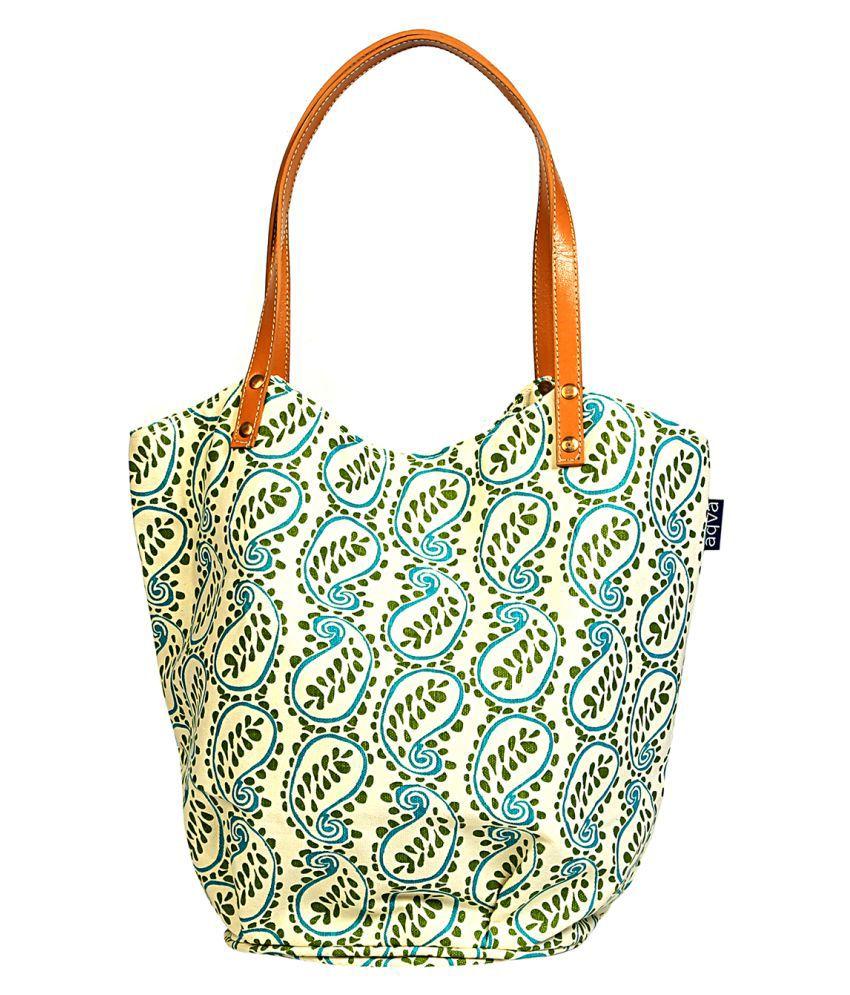 Aqva Multi Canvas Shoulder Bag