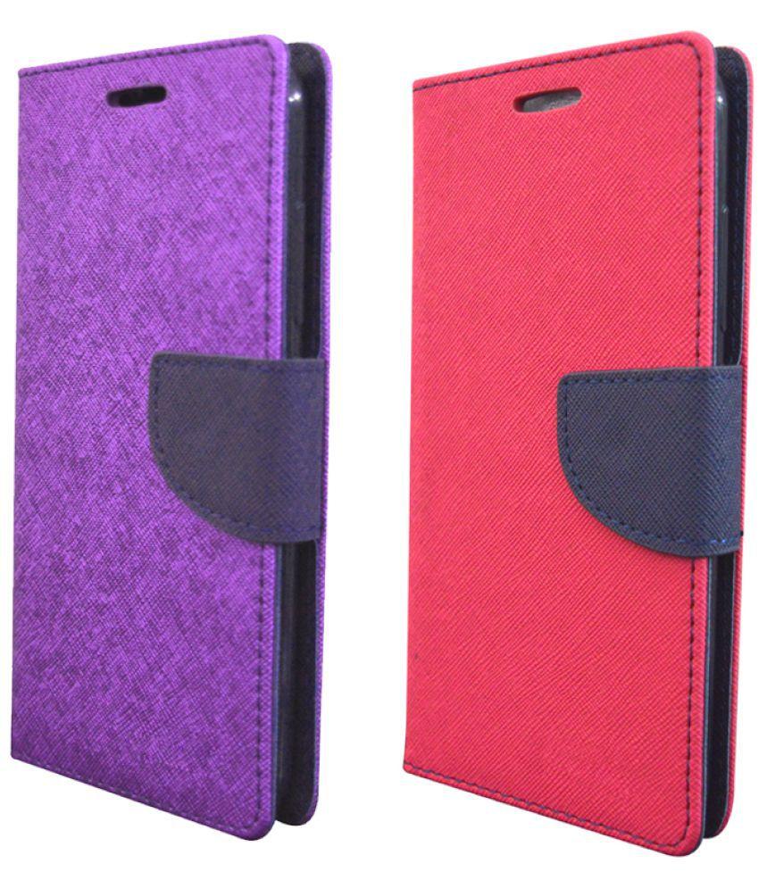 Asus Zenfone 2 Flip Cover by Rdcase - Multi
