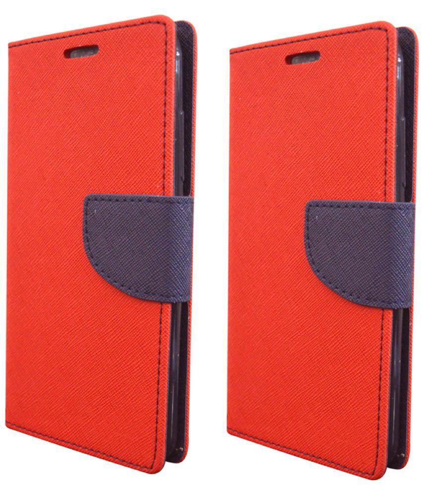 Nokia Lumia 730 Flip Cover by Rdcase - Multi