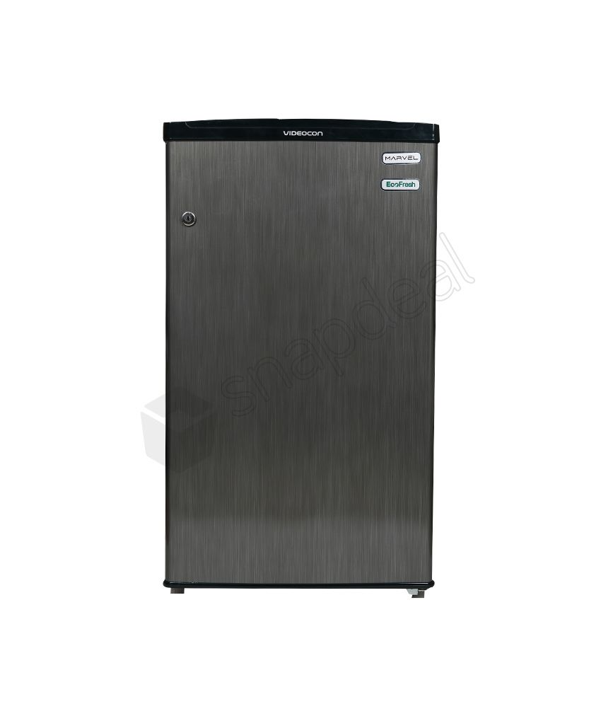 Videocon 80 Ltr VC091PSH- HDW Direct Cool Single Door Refrigerator - Silver