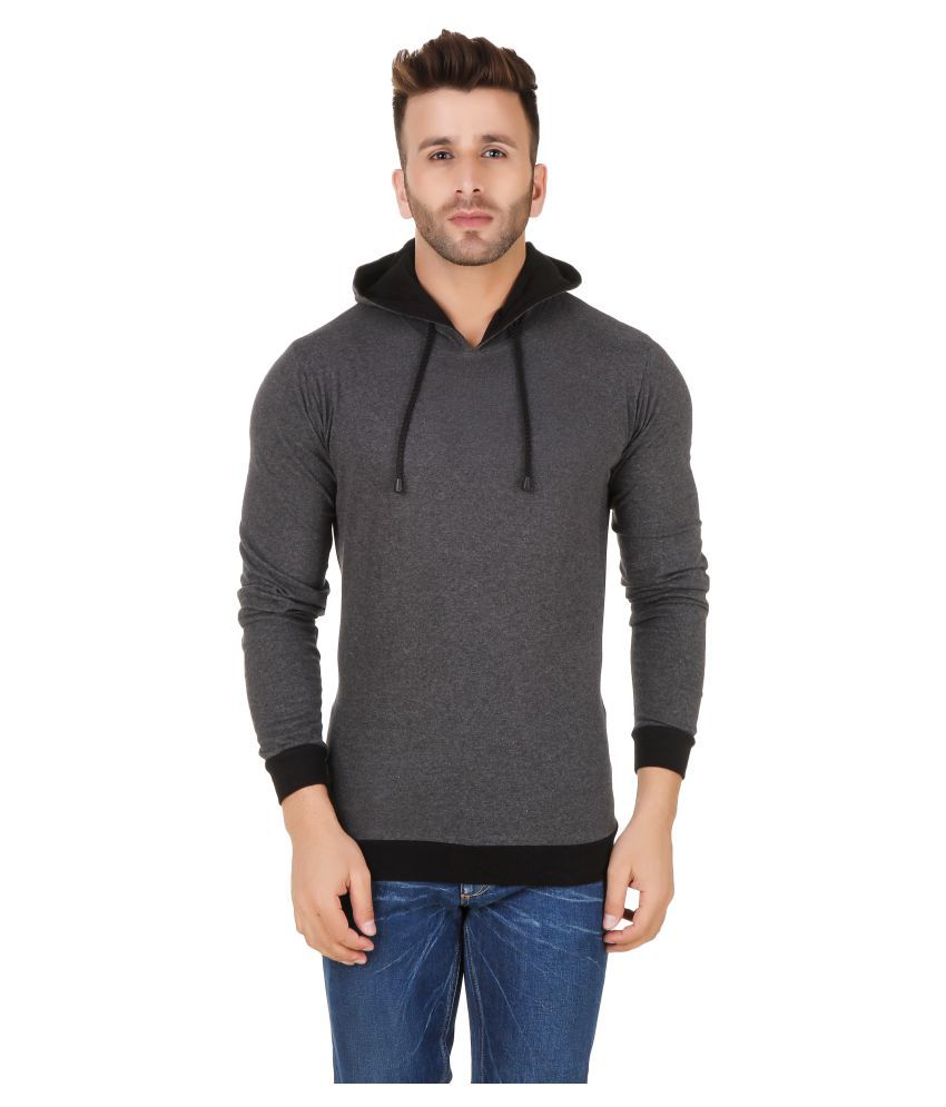 Fabstone Collection Grey Hooded T-Shirt