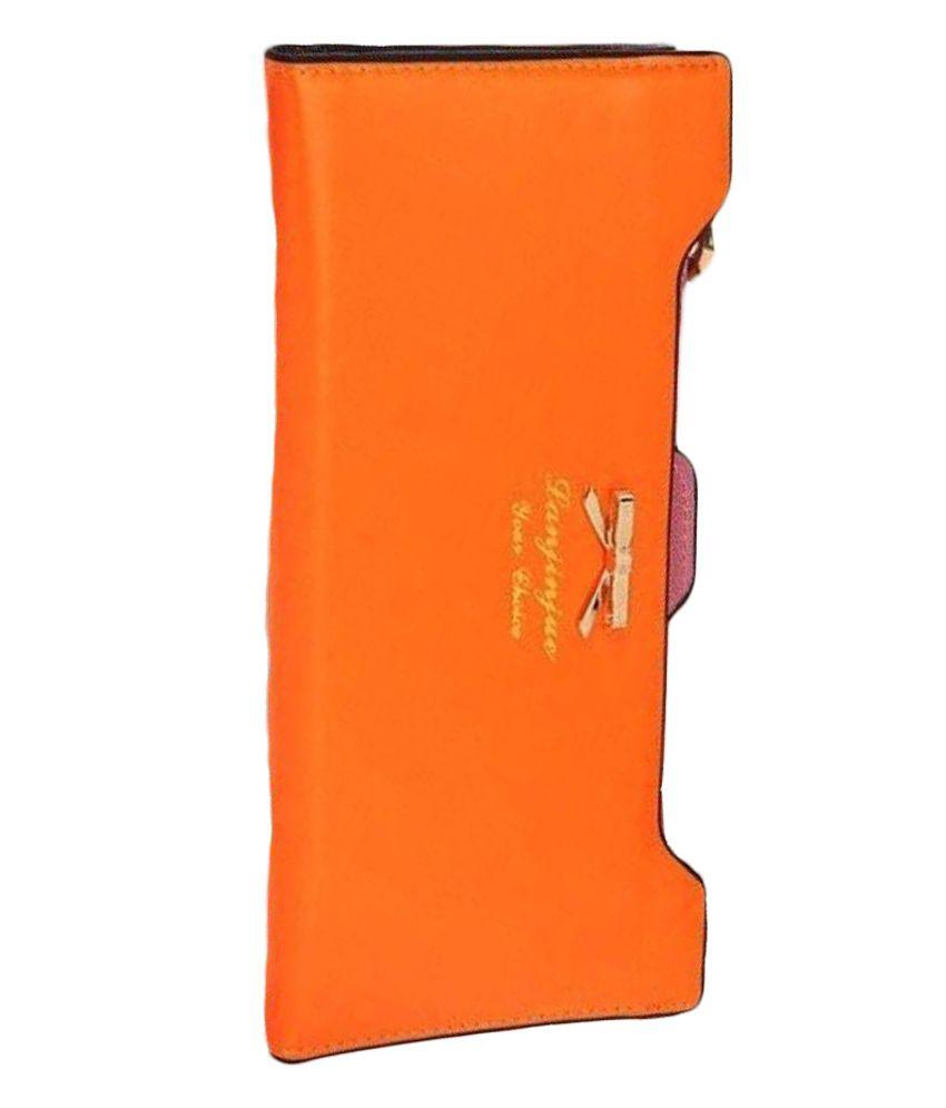 Lanjinjue Orange Wallet