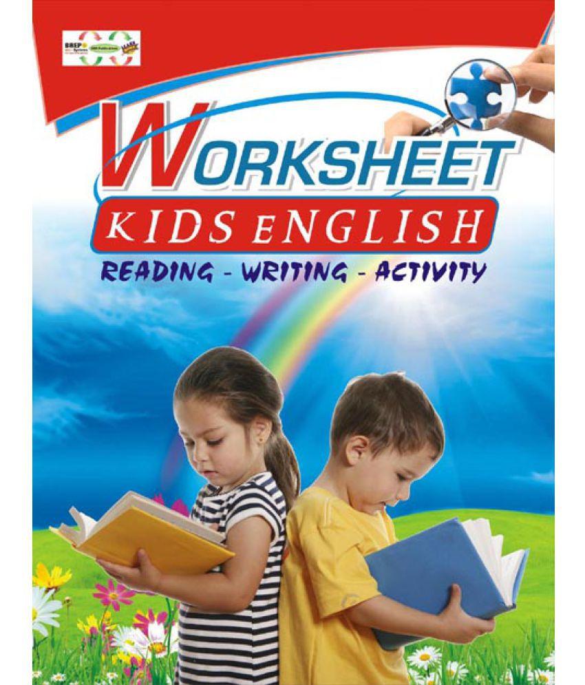 Worksheet Kids English for Children