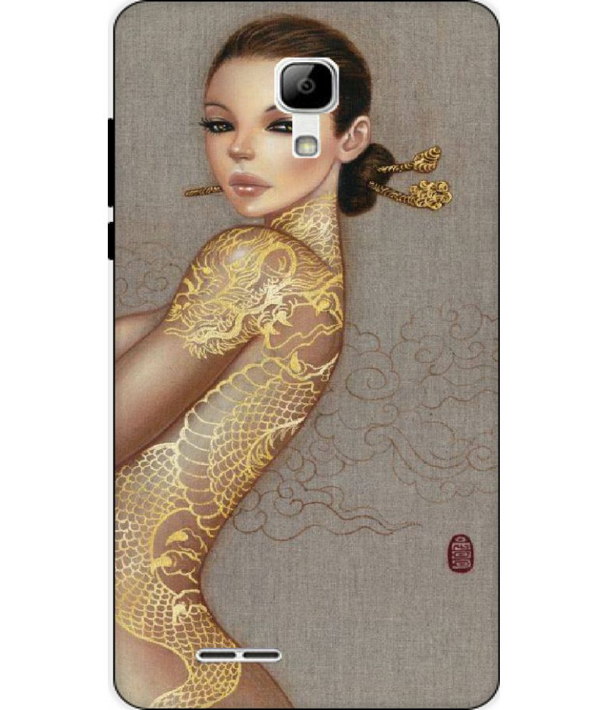 Micromax Bolt Selfie Q424 Printed Cover By Mouse Trap