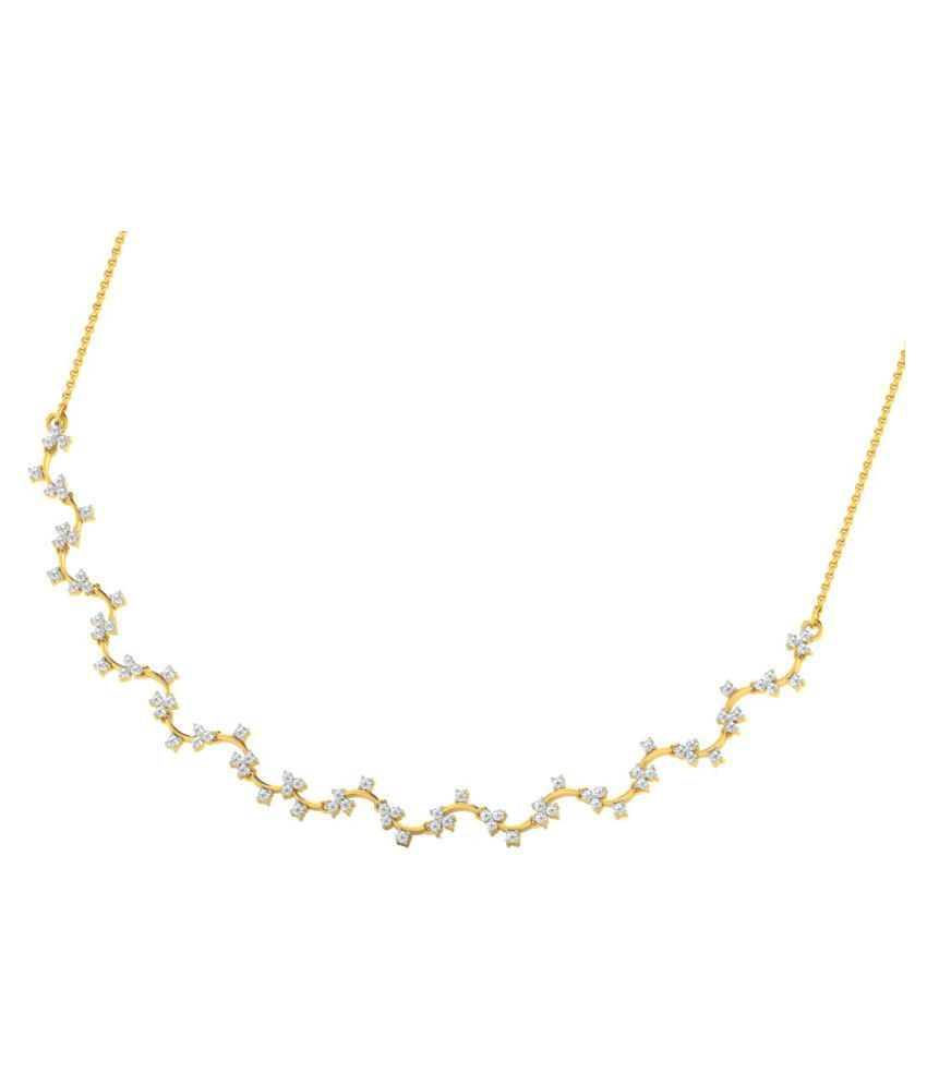 Sparkles 18K Yellow Gold Necklace