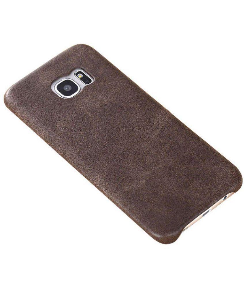 Samsung Galaxy S7 Edge Cover by VERUS - Brown