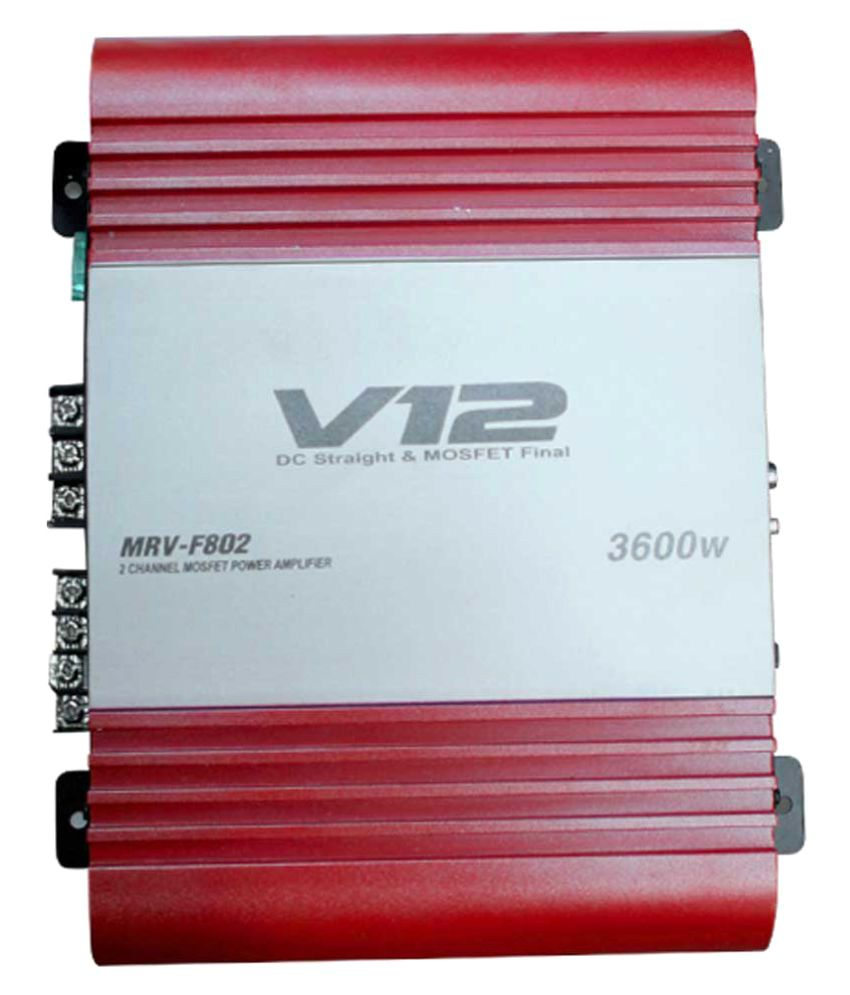 JVL  Channel Amplifie Mono Channel Amplifier