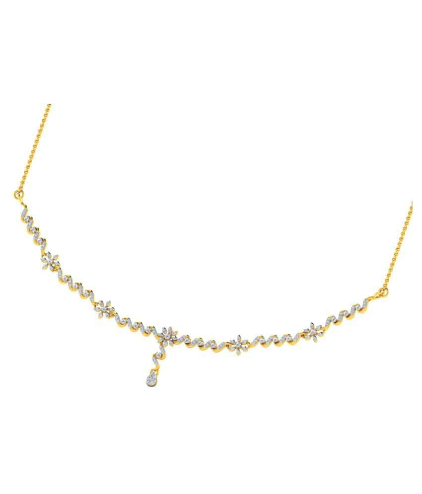 His & Her 18K Yellow Gold Necklace