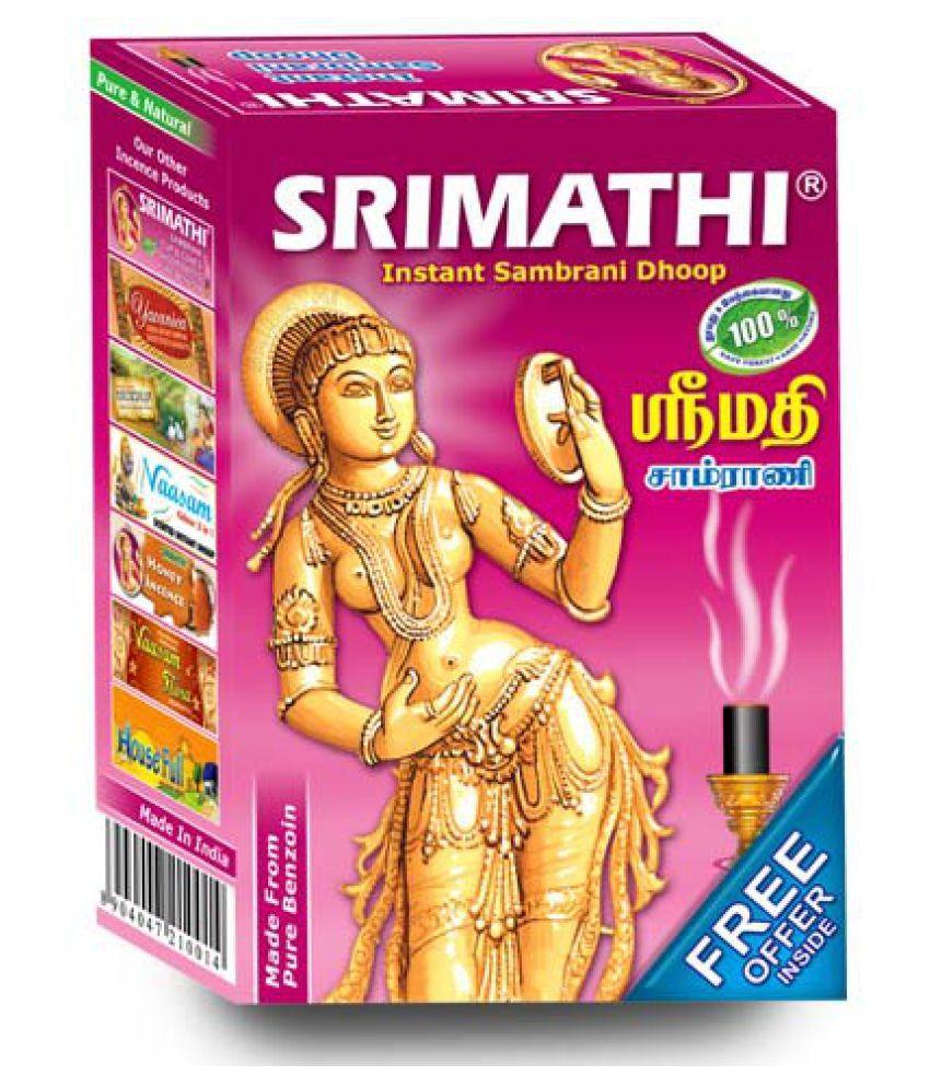 Srimathi Instant Sambrani Stems - Pack Of 12