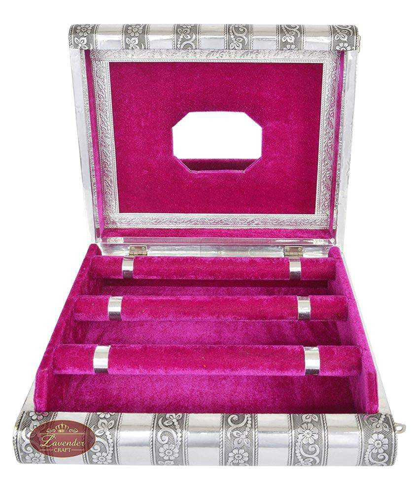 Jillian Pink Bangle Box