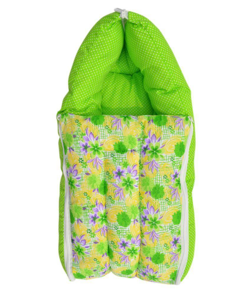 Younique Green 3 in 1 Baby Bed Carrier / Sleeping Bag