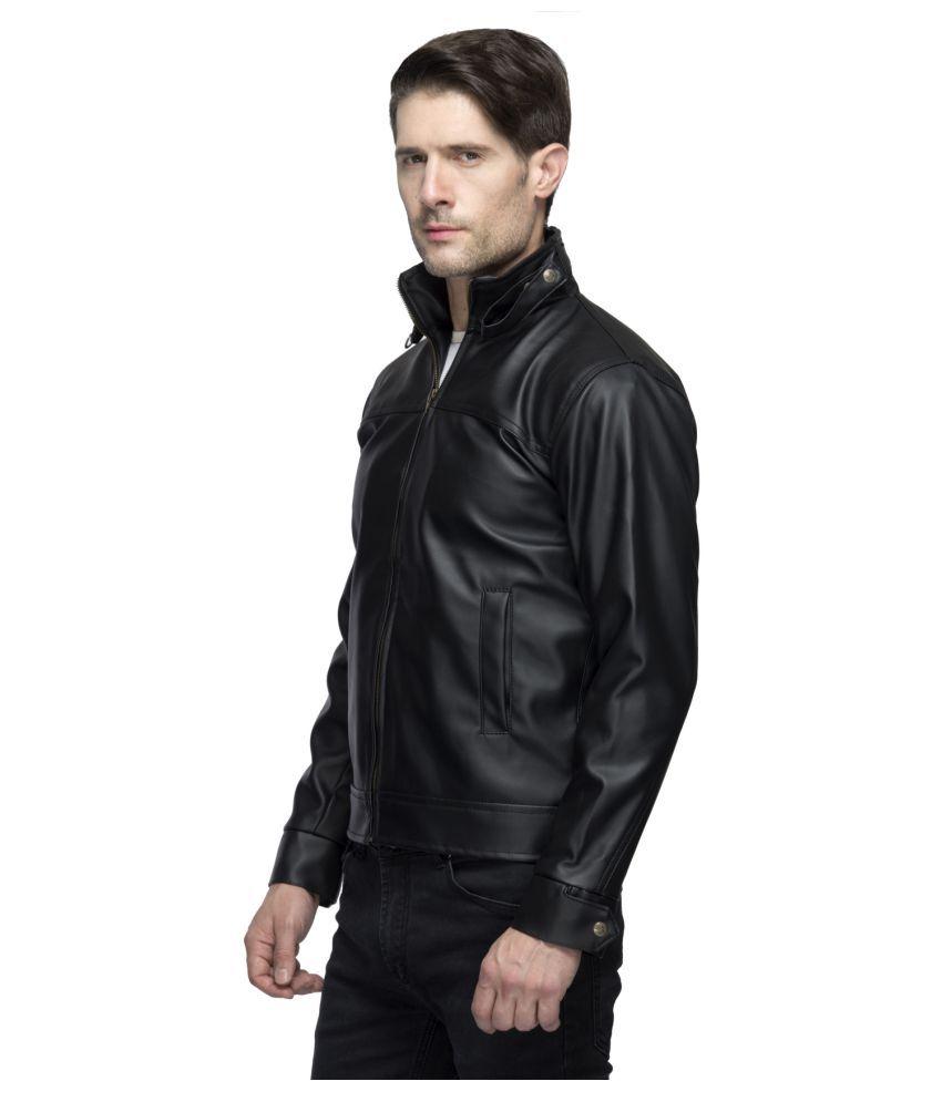 e1aca781b Lambency Black Biker Jacket