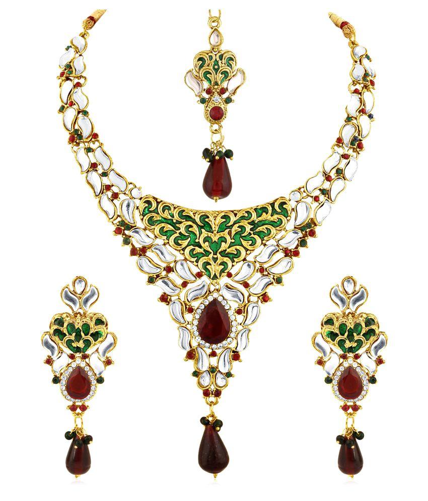 Inaya Multicolor Necklace Set
