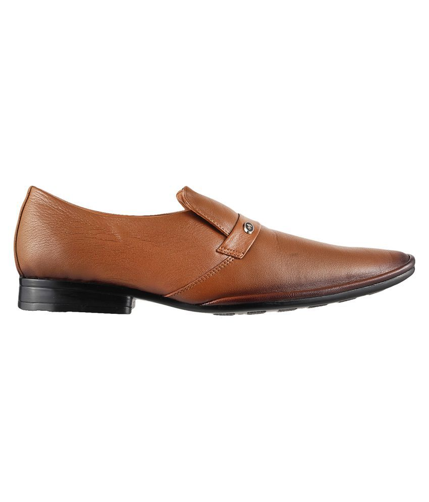 ef11178fd7a1da Metro TAN Office Genuine Leather Formal Shoes Price in India- Buy Metro TAN  Office Genuine Leather Formal Shoes Online at Snapdeal