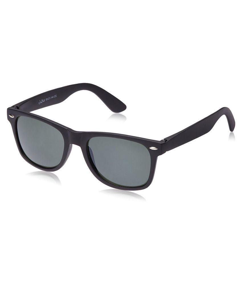 Joe Black - Green Square Sunglasses ( )