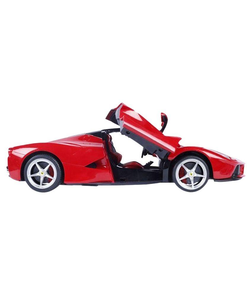 Red Ferrari: The Flyer's Bay Rechargeble Red Ferrari 2.0 Car